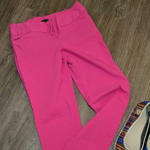 Limited Pink ankle pants